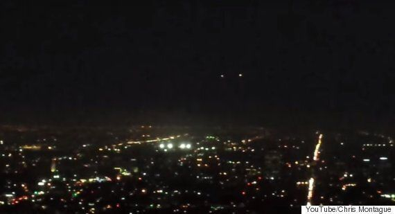 UFO That Looked 'Like A Shooting Star' Seen By Multiple Witnesses Hovering Over Los