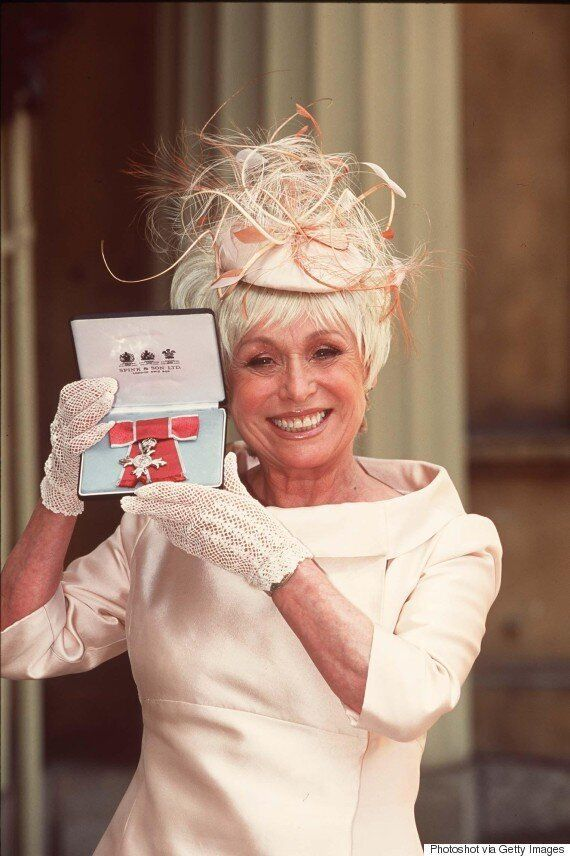 Barbara Windsor To Be Made A Dame In The Queen's New Year's Honours