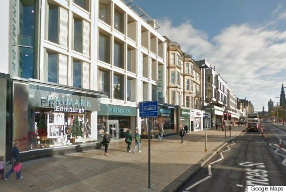 Man Charged For Raping Teen Outside Primark In 'Horrendous' Assault In Edinburgh City
