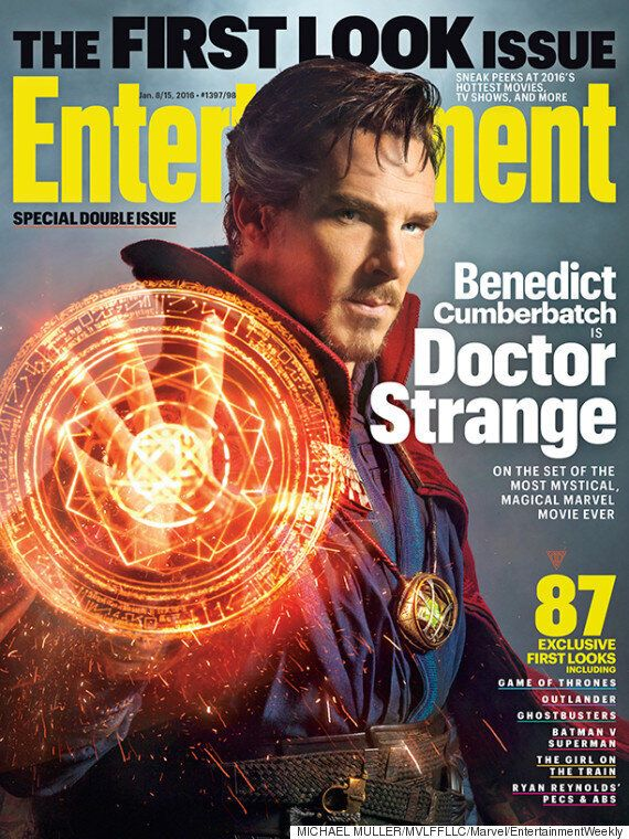 Benedict Cumberbatch Appears As 'Doctor Strange' In New Entertainment Weekly Cover
