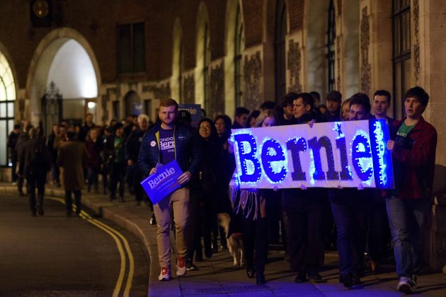 Democrats In London Are 'Feeling The Bern' On Super