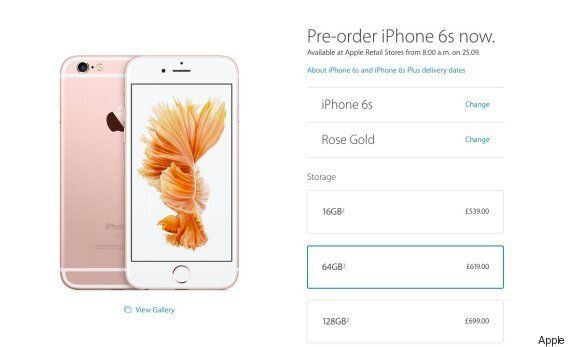 Apple iPhone 6s And 6s Plus Pre-Orders Delivery Times Hit 3-4