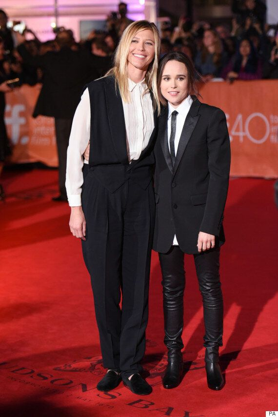 Ellen Page Makes Public Debut With Girlfriend Samantha Thomas, Telling Reporters It's Because 'I'm In