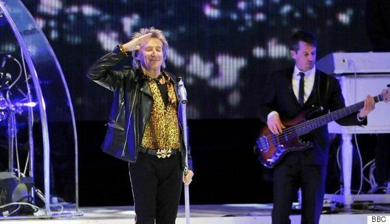 Rod Stewart, Bryan Adams Show Younger Performers How It's Done At BBC Radio 2