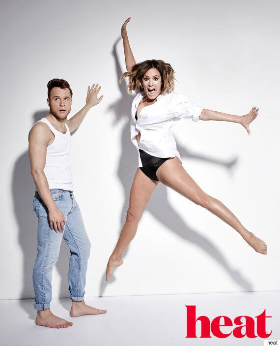 'Strictly Come Dancing' Champ Caroline Flack Tips Peter Andre To Win 2015