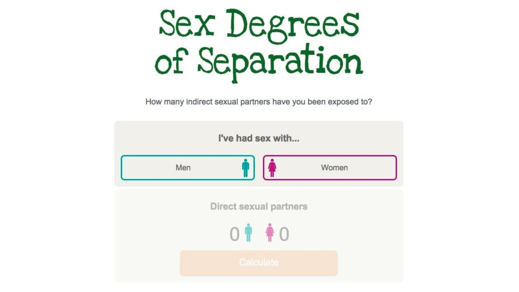 test sex