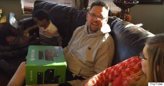 Watch This Kid Prank His Dad Back After Eight Year Xbox