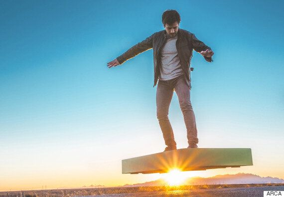 The ARCA Hoverboard Is A $20,000 Glimpse Into The