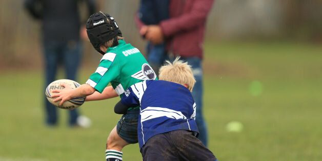 Undated file photo of an U9's rugby match between Newark and Nottingham at Nottingham Rugby Club, as...