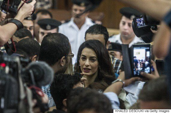 Justice Minister Says Amal Clooney Only Given Top Cases