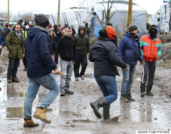 Calais Migrants Sew Their Lips Together As Knife Fight Breaks Out