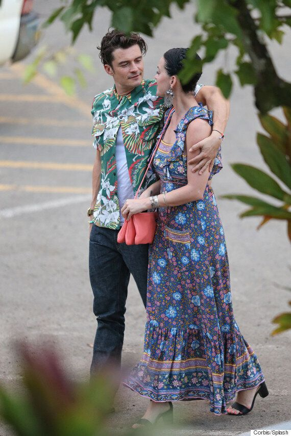 Katy Perry And Orlando Bloom Confirm Relationship Rumours With Loved-Up Display On Hawaii Holiday