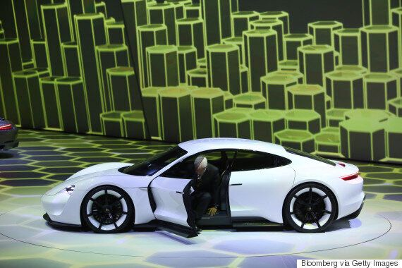 Porsche Unveils Its Stunning Mission E, An Electric Supercar That Can Charge In 15