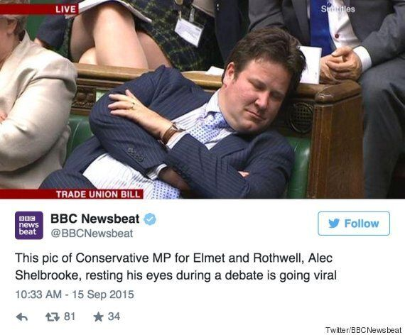 BBC Apologises For 'Sleeping' Alec Shelbrooke Tweet When Tory MP Is Actually