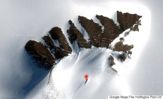 UFO Crash Site Reportedly Discovered In Antarctica Through Google