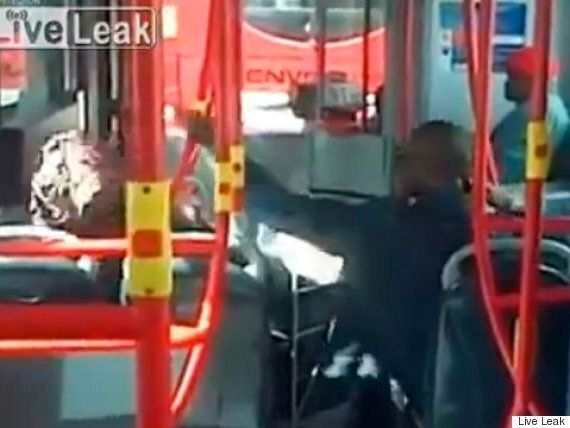 London Bus Fight Video: 'Grandma' Left Bloodied After Attack By Male