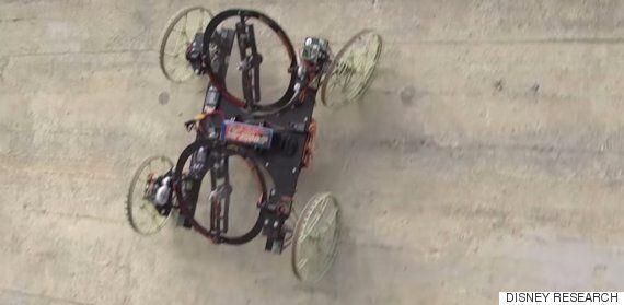 Disney's New Car-Like Robot VertiGo Can Climb