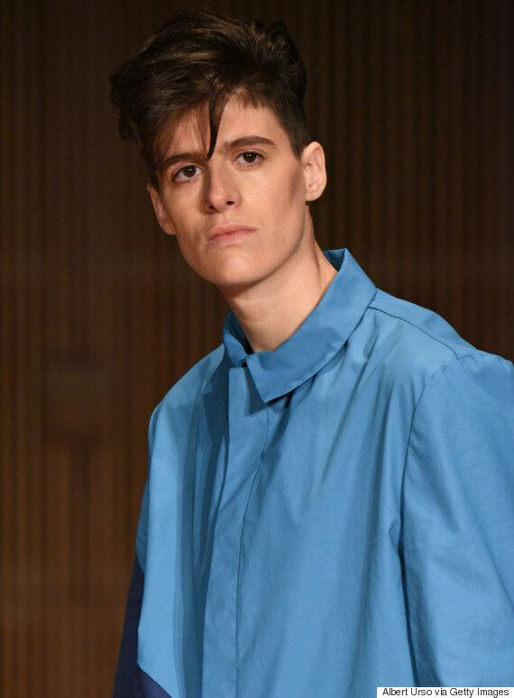 New York Fashion Week: Rain Dove Talks Being A Runway Model And Gender