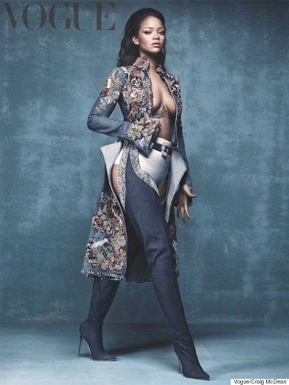 Rihanna Slays On New Cover Of British Vogue - Revealing Shoe Collaboration With Manolo