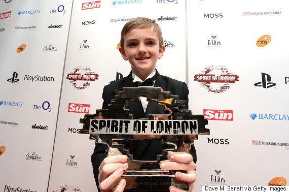 New Year's Honour Recipient Jonjo Heurman, 13, Is Youngest Person To Receive