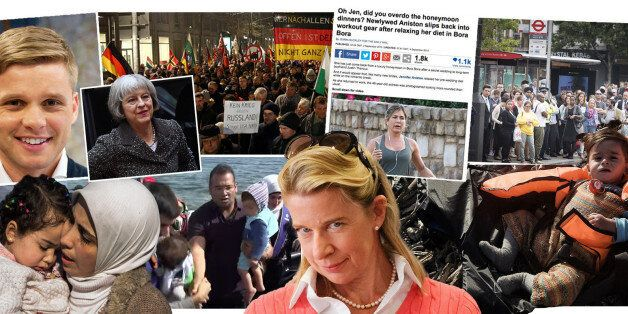 From Katie Hopkins To The Refugee Crisis, Jennifer Aniston To The Tube Strike: HuffPost UK's 20 Most...