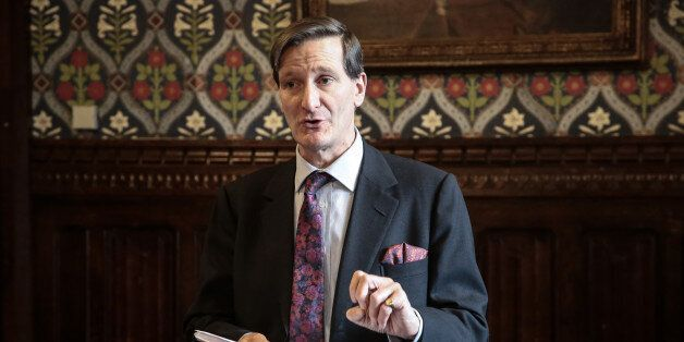 Dominic Grieve QC MP at the launch of the follow-up report by the Low Commission in the Jubilee Room...