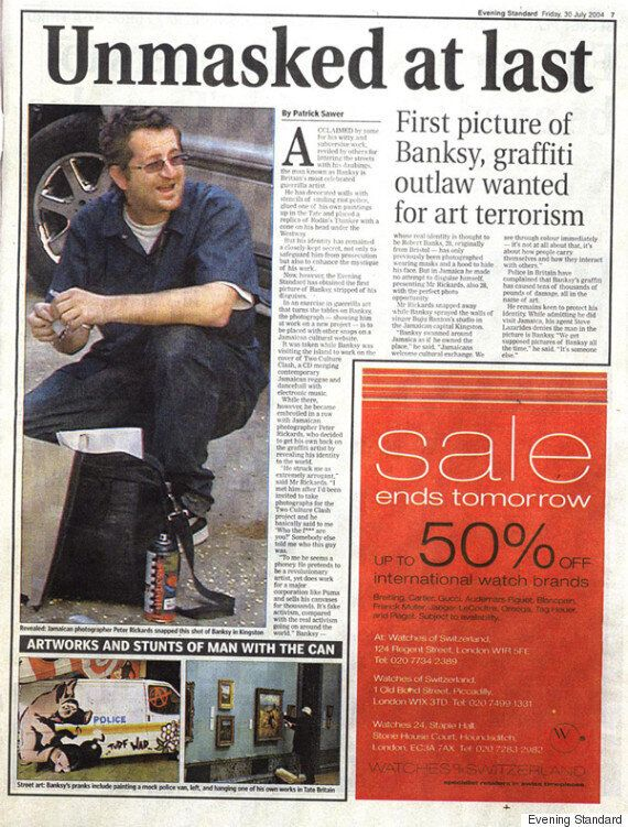 Banksy Identity 'Unmasked' As Robin Gunningham In 'Geographic Profiling' Study By