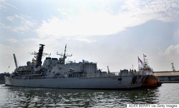 Refugee Crisis: HMS Richmond Sent To Tackle People Smugglers Off Libyan