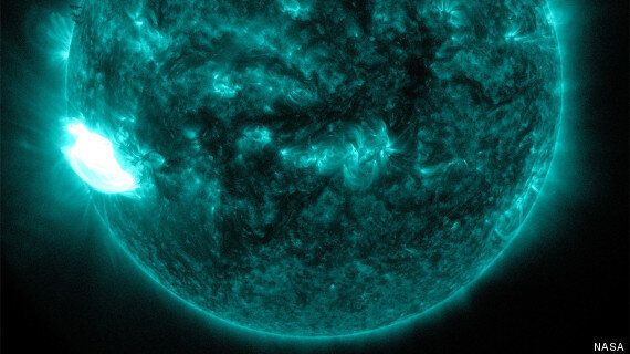 Massive Solar Flare Could Replace New Year's Eve Fireworks With Stunning Northern