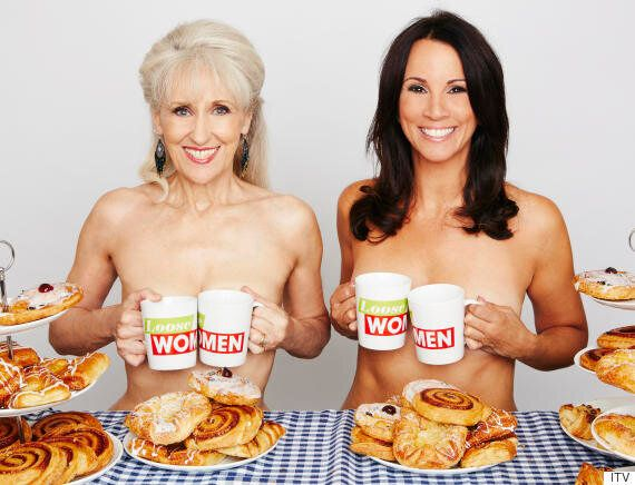 Loose Women's Andrea McLean And Anita Dobson Strip Naked To Recreate 'Calendar Girls' Poses For Women's...