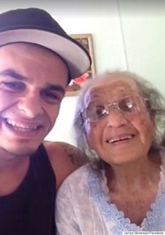 Heartwarming Moment Grandson Asks Grandmother To Dance Even Though She Can't