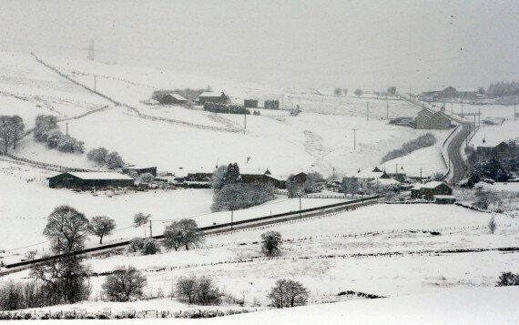 UK Weather: Snow Continues To Fall As Storm Jake Moves Down The