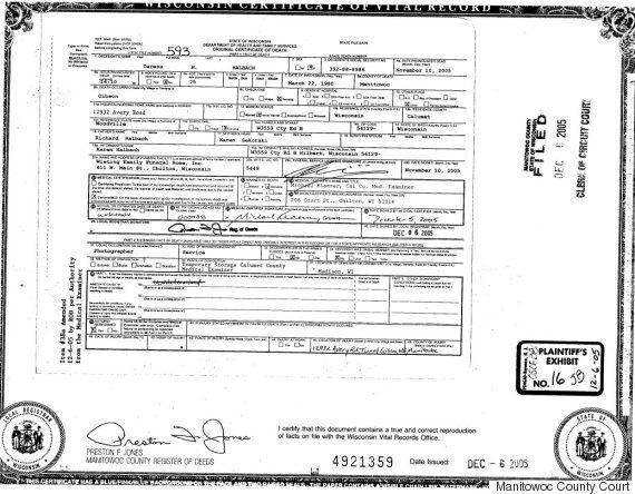 Making A Murderer: Teresa Halbach's Death Certificate Throws Doubts On Steven Avery's