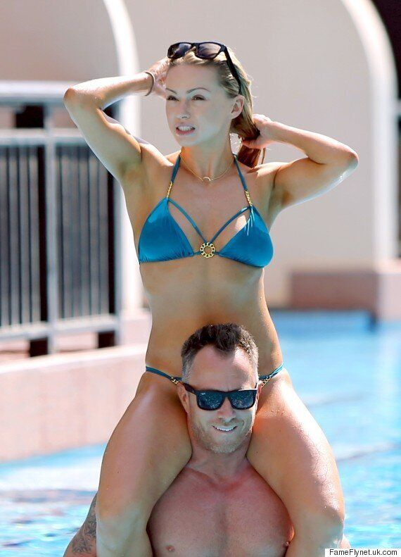 Ola Jordan Dons Her Bikini For Major PDA With Husband James Jordan On Sunshine Break To Dubai