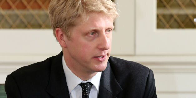 Jo Johnson, the new Head of Policy for the Conservative party, speaks during at meeting at Downing Street,