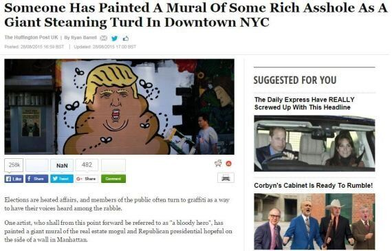 Browser Add-On Replaces 'Donald Trump' With 'Some Rich