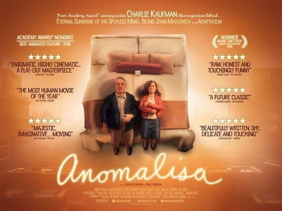 Film Review: Anomalisa - Next To Her - The Here After - The