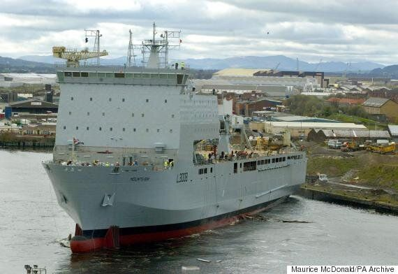 Royal Navy Ship Sent To Tackle Migrant Smugglers Isn't Actually Going To Be 'Turning Back'