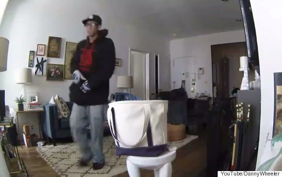 New York Man Watches His Flat Get Robbed Via His