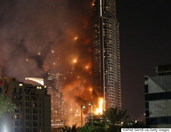 Dubai Hotel Fire: Brits Tell Of 'Pandemonium' Trying To Escape New Year's Eve