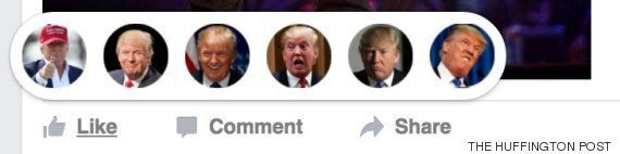 Google Chrome Browser Extension: Facebook Reactions Change To Donald Trump And Pokémon