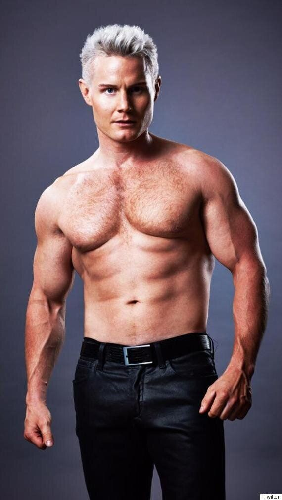 'X Factor' Star Rhydian Roberts Shows Off His Impressive New Muscles In Gratuitous Shirtless Twitter