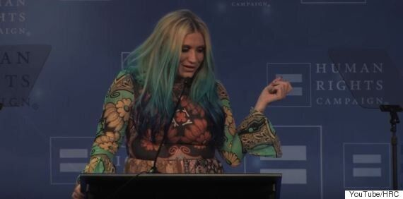 Kesha Gives Emotional Speech And Thanks Supporters, After Winning Human Rights Campaign