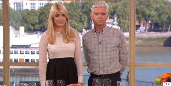 Holly Willoughby And Phillip Schofield Reveal 'This Morning' Studio Has Been Vandalised (But It's Not...