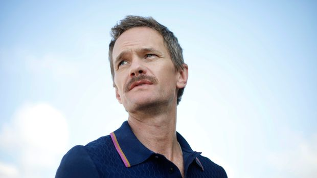 Neil Patrick Harris looks on during an interview with the Associated Press in Tel Aviv, Israel, Wednesday, June 12, 2019. Harris is this year's official international ambassador to Tel Aviv's Gay Pride Parade(AP Photo/Ariel Schalit)