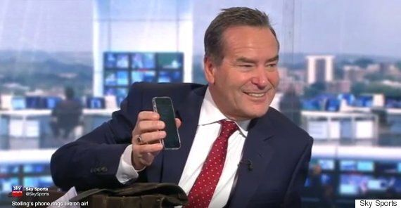 Sky Sports Presenter Jeff Stelling Gets Phone Call On Air, Colleagues Ask 'Is it The