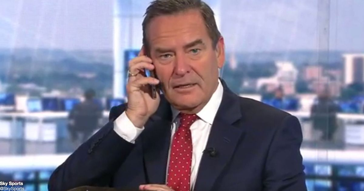 Sky Sports Presenter Jeff Stelling Gets Phone Call On Air ...