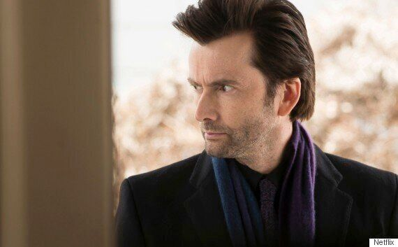 FIRST LOOK: David Tennant Stars In Marvel's 'Jessica Jones' On Netflix, Beside Krysten Ritter And Mike