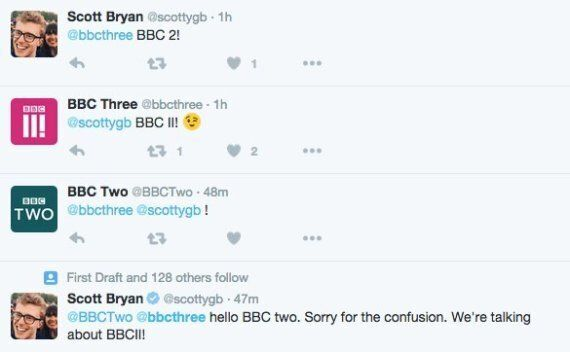 BBC Three's New Logo Draws Comparisons With Farcical Episode