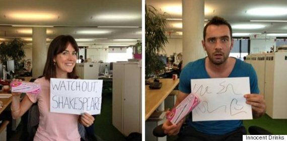 International Women's Day: 'Innocent Drinks' Staff Poke Fun At BIC 'For Her' Pens With Hilarious